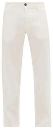 Barena Venezia - Rionero Slim-leg Linen-blend Chinos - Mens - White