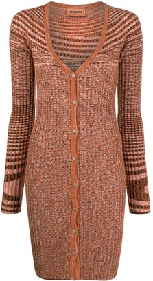 Missoni Longline Scoop Neck Cardigan