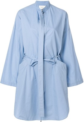Cédric Charlier Tie Waist Shirt Dress