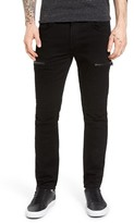 J Brand Men's Acrus Moto Skinny Fit Jeans