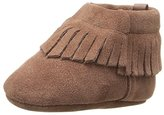 Baby Deer Suede Moccasin with Fringe Boot