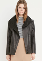 Forever 21 Faux Shearling-Lined Jacket