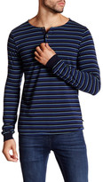 Scotch & Soda Long Sleeve Stripe Henley