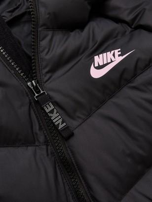 Nike Older Filled Jacket - Black/Pink