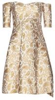 Stella McCartney Mytheresa.com Exclusive Off-the-shoulder Jacquard Dress