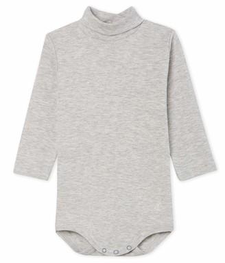 Petit Bateau Baby Boys' Body Ml Col Roule_5018703 Shaping Bodysuit