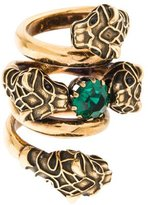 Gucci Tiger Head Double Wrap Ring w/ Tags