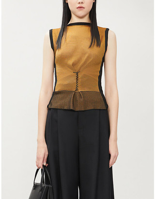 Selfridges Kepler Sleeveless knitted top