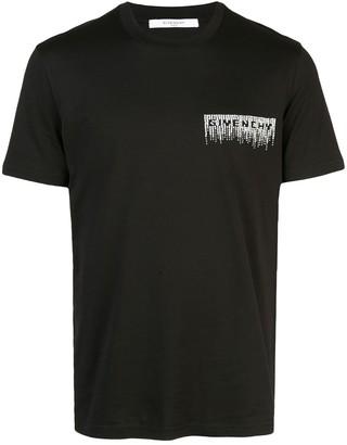 Givenchy sequin logo oversized T-shirt