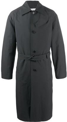 Bottega Veneta Single-Breasted Raincoat