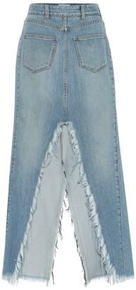 Givenchy Denim midi skirt