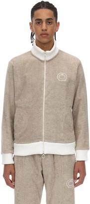 Casablanca Zip-up Cotton Terry Sweat Jacket