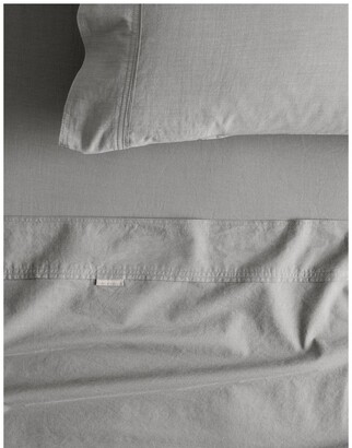 Sheridan Reilly Fitted Sheet in Fog Grey Queen