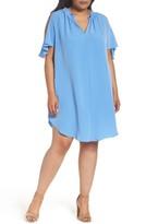 Rachel Roy Plus Size Women's Elizabeth Cold Shoulder Dress