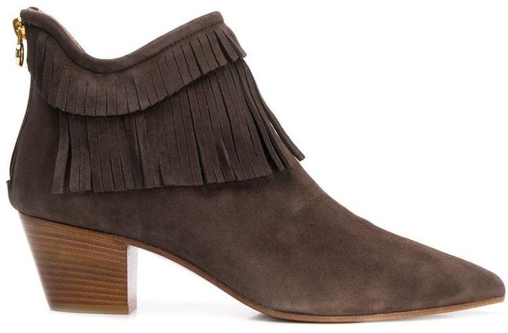 L'Autre Chose fringed boots