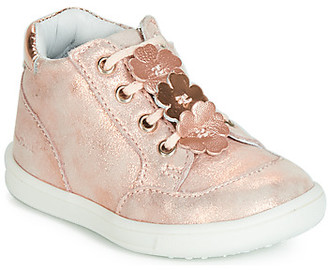 Catimini JAVA girls's Shoes (High-top Trainers) in Pink
