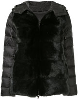 P.A.R.O.S.H. faux fur puffer jacket
