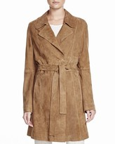 Basler Suede Trench Coat