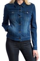 Liverpool Jeans Company Petite Women's Knit Denim Jacket