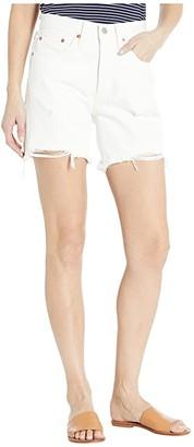 Levi's Premium 501(r) Mid Thigh Shorts (Wondering Mind) Women's Casual Pants