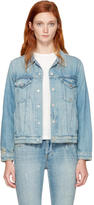 Amo Blue Denim Pop Jacket