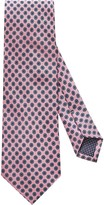 Eton Pink Geometric Print Tie