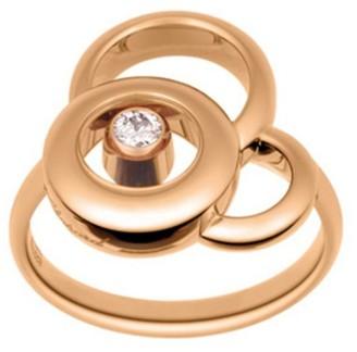 Chopard Happy Dreams Diamond & 18K Rose Gold Ring