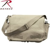 Rothco Messenger Bag - Vintage Heavyweight Canvas, Gray