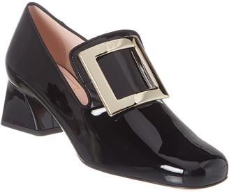 Roger Vivier Tres Vivier Patent Loafer
