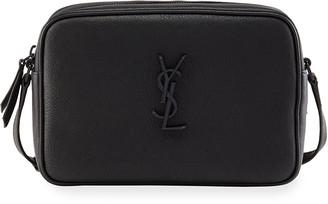 Saint Laurent Lou Medium Monogram Smooth Leather Camera Bag