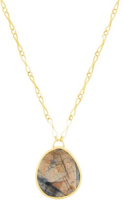 Eli Halili - Sapphire & 22kt Gold Necklace - Womens - Gold