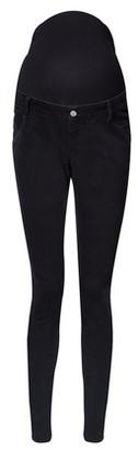 Dorothy Perkins Womens **Maternity Black 'Darcy' Ankle Grazer Jeans, Black