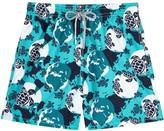 Vilebrequin Turtle World Turquoise Swim Shorts