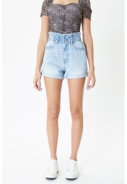 Thumbnail for your product : Kancan Women's High Rise Paperbag Shorts
