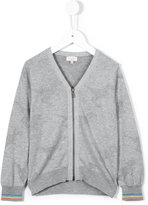 Paul Smith zipped cardigan - kids - Cotton - 2 yrs
