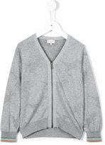 Paul Smith zipped cardigan - kids - Cotton - 3 yrs