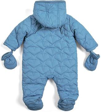 Mamas and Papas Baby Boys Quilted Pram Suit - Blue