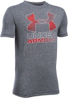 Under Armour Boys' Big Logo Hybrid 2.0 Tee