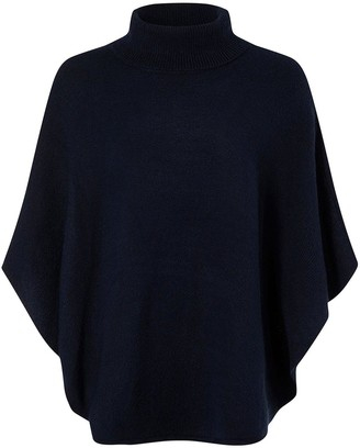 Accessorize Cosy Knit Pullover - Navy