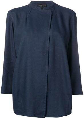 Emporio Armani Rustic Garbadine Jacket