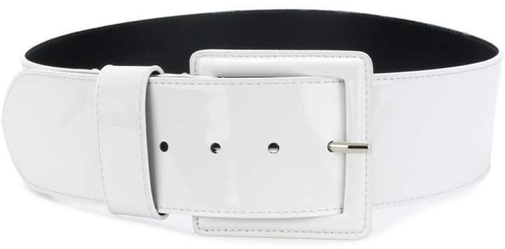 B-Low the Belt square buckle belt