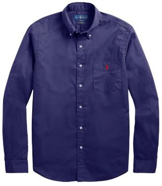 Polo Ralph Lauren Beach Cloth Button-Front Long-Sleeve Shirt