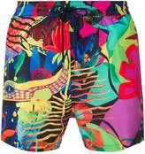 Paul Smith tropical print swim shorts