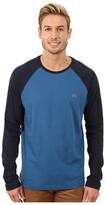 Lacoste Color Block Baseball Jersey Tee Shirt
