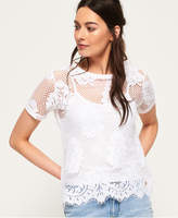 Superdry Savanna Lace T-Shirt