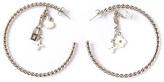 Louis Vuitton Vintage twisted hoop earings