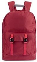 C6 Men's Pocket Backpack Red Nylon