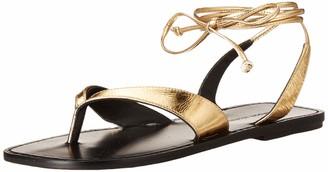 Sigerson Morrison Women's Lace up Sandal Flat