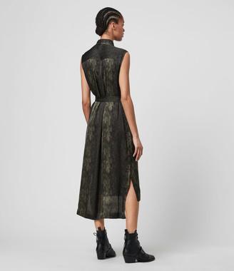 AllSaints Esthie Masala Dress