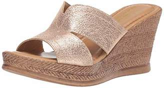Easy Street Shoes Tuscany Women's Marsala Wedge Sandal